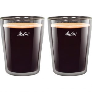 Melitta set koffieglazen 200ml