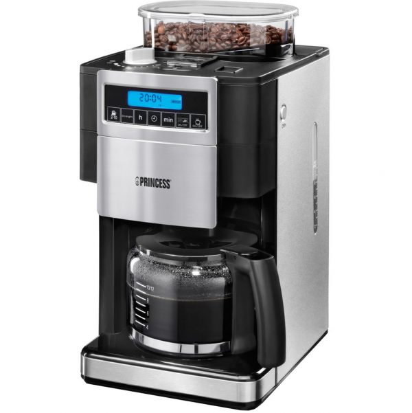 Princess Coffee Maker And Grinder Deluxe