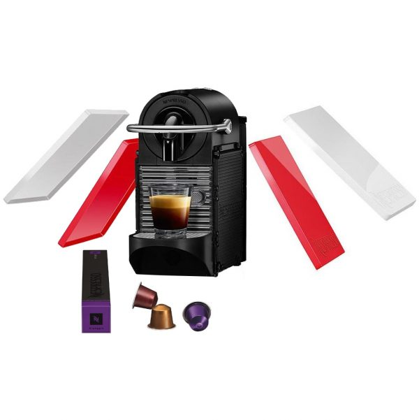 Magimix Nespresso Pixie Clips M110 Wit & Rood