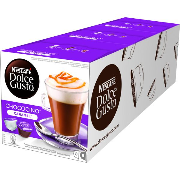 Dolce Gusto Choco Caramel 3 pack