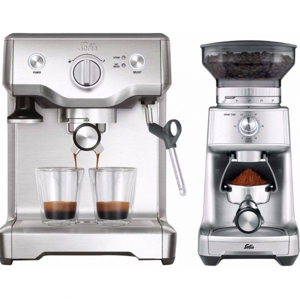 Solis Barista Perfect Pro 118 + Caffissima koffiemolen