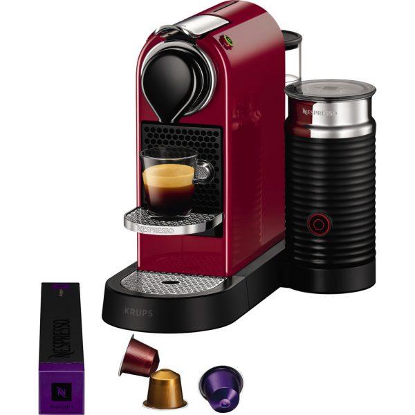 Krups Nespresso Citiz & Milk Cherry Red XN7605