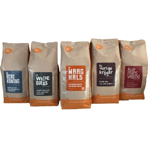 Pure Africa Proefpakket Arabica koffiebonen 2