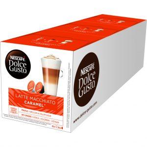Dolce Gusto Caramel Macchiato 3 pack