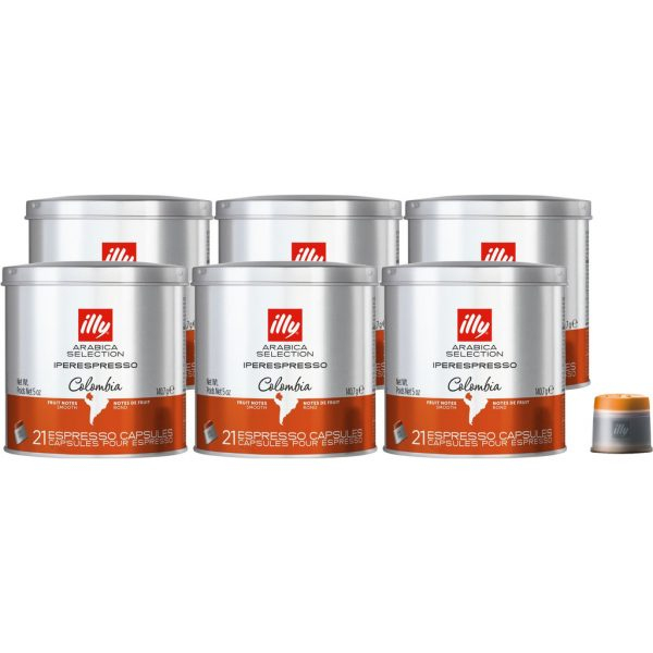 Illy Iperespresso Colombia 126 cups