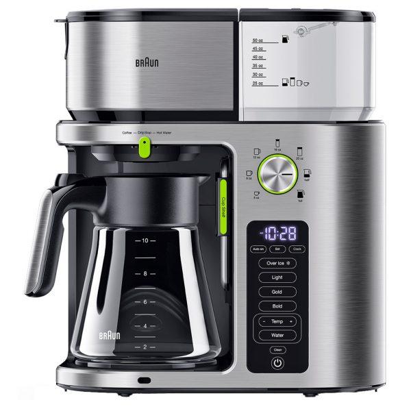 Braun KF9170SI MultiServe Koffiezetapparaat RVS/Zilver