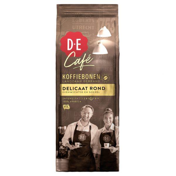 Douwe Egberts Café Delicaat Rond bonen 500 gram