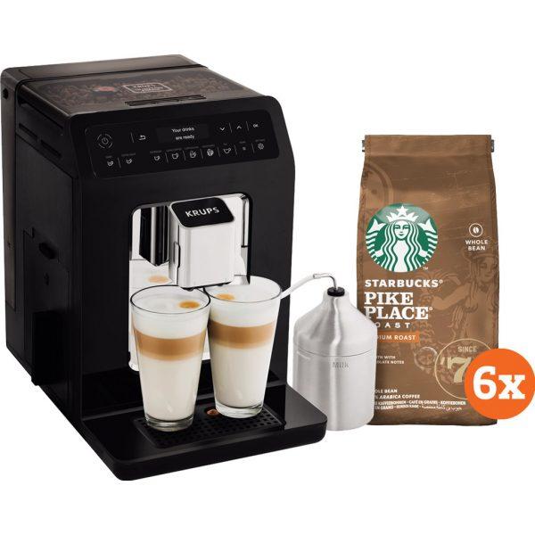 Krups Evidence EA8918 + Starbucks Koffiebonen