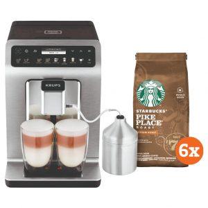 Krups Evidence Plus EA894T + Starbucks Koffiebonen